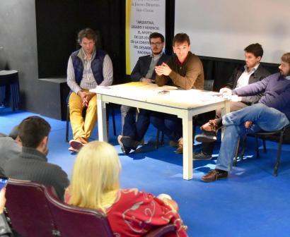 Galmarini cerró el 2º Encuentro Anual del Equipo Diocesano de Jóvenes Dirigentes