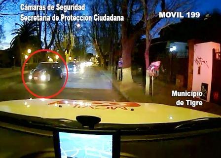 Conducía su vehículo mientras tomaba alcohol y fue detenido en Tigre