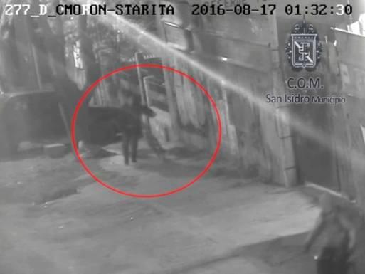 Detuvieron a dos delincuentes por las cámaras de seguridad de San Isidro