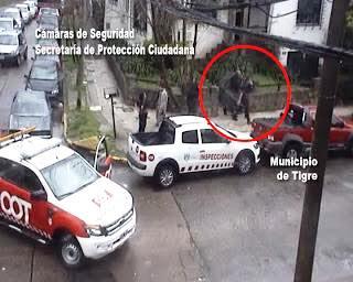 Detienen a un ladrón en Tigre tras una larga persecución