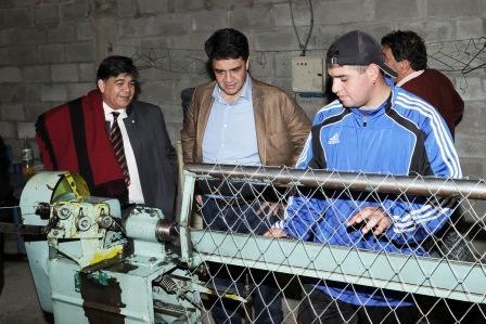 Jorge Macri recorrió José C. Paz con Mario Ishii