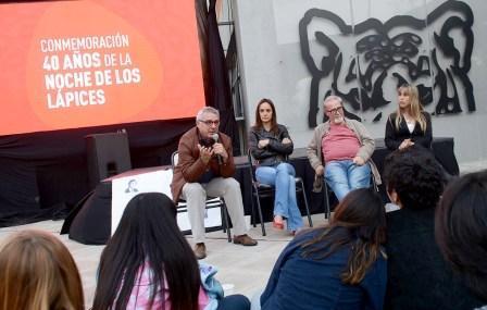 Jornada de conmemoración por la Noche de los Lápices en Tigre
