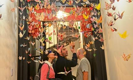 La muestra Arte Naif pasó por la Quinta El Ombú de San Fernando