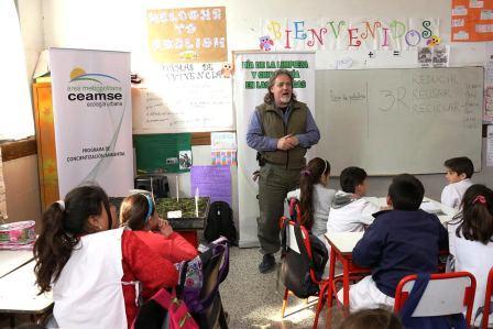 Pilar y CEAMSE impulsan acciones para mejorar el espacio público y generar conciencia ambiental