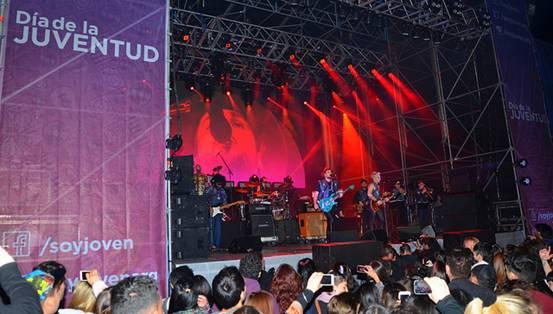 Más de 10 mil personas en el show de Illya Kuryaki and The Valderramas en San Isidro