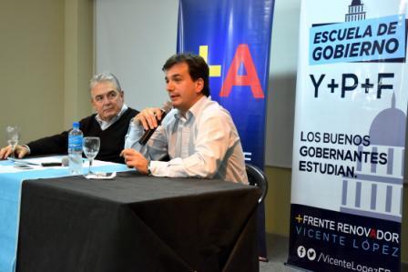 Galmarini y Linares disertaron sobre Reforma Política en Vicente López