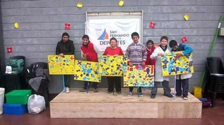 Los grupos de Discapacidad de San Fernando tuvieron juegos, ejercicios y spa