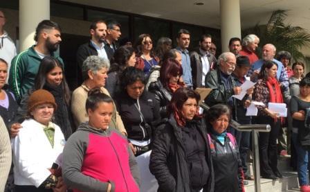 Organizaciones sociales, vecinales y pol�ticas repudiaron el Sal�n Inmobiliario de Tigre 2016