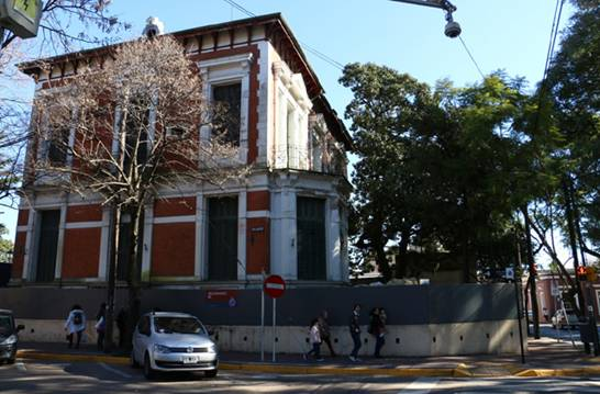El Municipio de San Isidro realiza importantes trabajos de restauraci�n en la Mansi�n Las Brisas