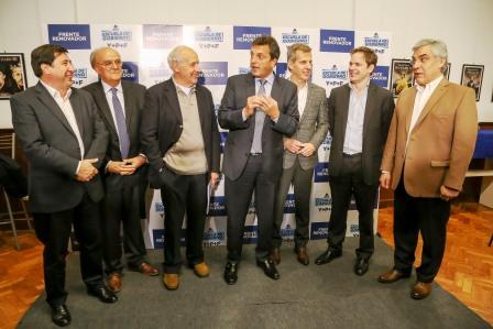 Massa y Lavagna lanzaron la Escuela de Gobierno en Bahía Blanca