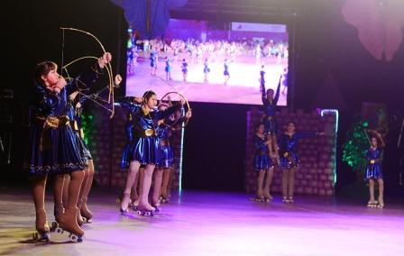 La Escuela Municipal de Patín tuvo su gala anual con un espectacular tributo a Disney