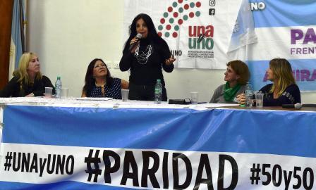Marcela Durrieu, ex Diputada nacional y actual Concejal explica por qué es necesaria la Paridad