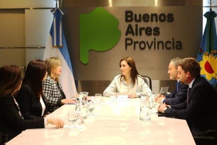 Vidal se reunió con autoridades de la Asociación de Mujeres Jueces de Argentina