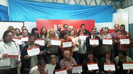 Tigre capacitó a 54 ONGs con herramientas para trabajo social