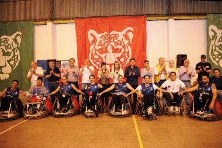 Tigre fue anfitri�n de un nuevo Torneo Internacional de Quad Rugby