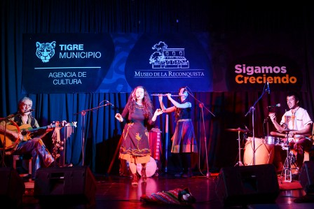 Con juegos, música y disertaciones, se vivió en Tigre una jornada a pura historia