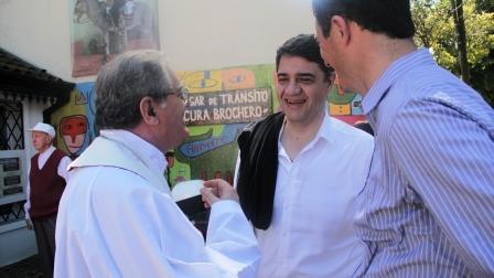 Jorge Macri participó de una misa en honor a la canonización del Cura Brochero