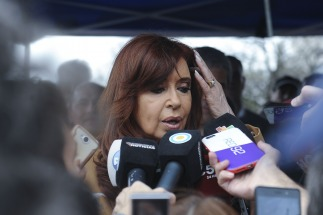 Cristina se quejó de que Macri y Vidal inauguraron viviendas en morón construidas durante su gestión