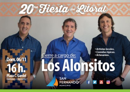 San Fernando celebra la 20° Fiesta del Litoral