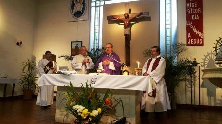 Monseñor Ojea celebró la Misa en homenaje al Personal policial fallecido y herido en cumplimiento del deber