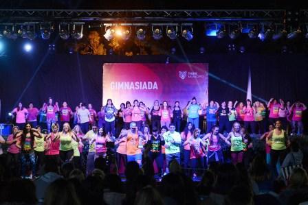 Gimnasiada, la gran fiesta de los polideportivos de Tigre