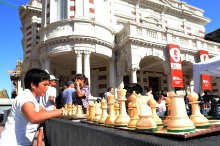 Este fin de semana, en Tigre se juega al ajedrez