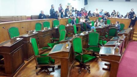 Repudio de la oposición a concejales de Cambiemos en Vicente López