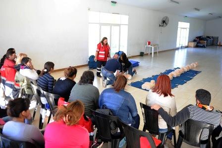Talleres gratuitos de RCP en Tigre