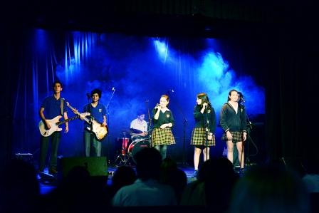 Jóvenes de escuelas de San Fernando presentaron su música en un programa municipal