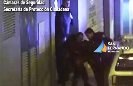 Patrullas Municipales de San Fernando detuvieron a un hombre con pedido de captura