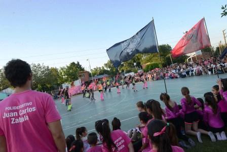 Benavídez celebró el quinto aniversario del polideportivo Zabala