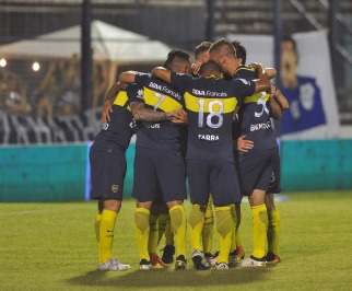 Boca mostró síntomas de recuperación al golear a Gimnasia