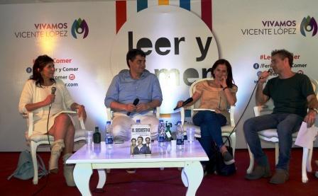 Jorge Macri participó de la feria Leer y Comer en el Puerto de Olivos