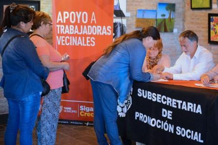 Nuevo apoyo a las trabajadoras vecinales de Tigre