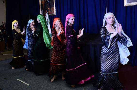 La Compañía de Danza Mujerías presentó en el Concejo Deliberante el espectáculo Delta del Oriente. Danzas del Nilo.