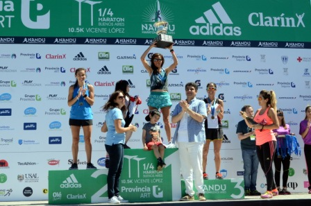 Jorge Macri participó en la entrega de premios del ¼ Maratón Buenos Aires Provincia ART 10,5K