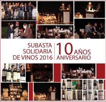 Subasta Solidaria de Vinos en Olivos