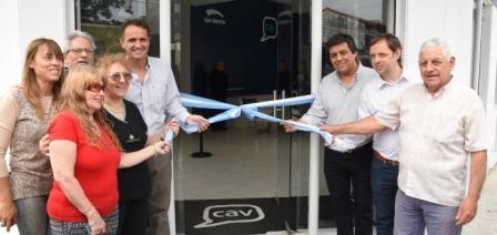 Katopodis inauguró el primer Centro de Atención al Vecino de Chilavert