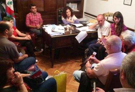 Organizaciones ambientalistas y sociales de Tigre estuvieron en el Congreso de la Nación  para manifestar su interés por la aprobación de la Ley Nacional de Humedales y se entrevistaron con la senadora nacional Teresita Luna.