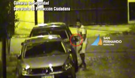 Patrullas municipales de  San Fernando detienen ladrones de estéreos