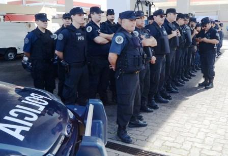 Llegaron 240 efectivos de Fuerzas Federales a Vicente López