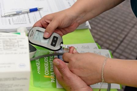 San Fernando realizó una campaña de prevención en el Día Internacional de la Diabetes