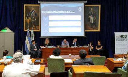 Funcionarios y concejales analizan en San Isidro el presupuesto 2017