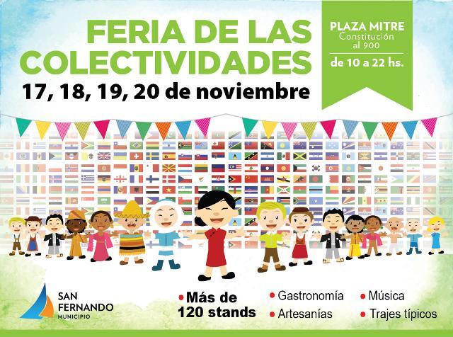 La Feria de las Colectividades regresa a San Fernando