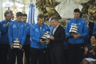 Los campeones de Copa Davis recibidos como héroes: desde Ezeiza hasta el obelisco y el balcón de la Casa Rosada