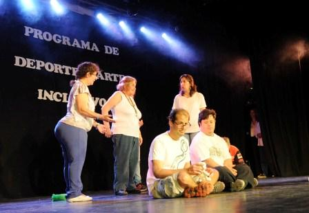 Cálido cierre de los talleres del programa de Deporte y Arte Inclusivo de Tigre