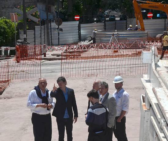 San Isidro avanza en la construcción del túnel de calle España