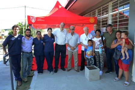 El Rotary Club de Tigre entregó nuevo equipamiento al CAFyS de Los Tábanos