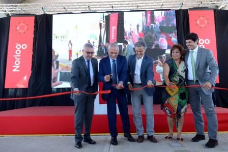Julio Zamora destacó la apertura de Norlog en Tigre, el centro logístico más grande de Sudamérica