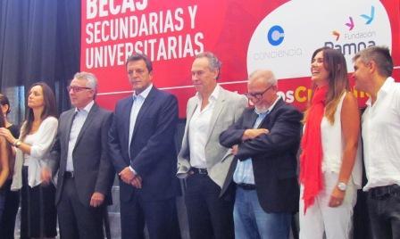 Massa reclamó que se pueda deducir ganancias del pago de educación universitaria